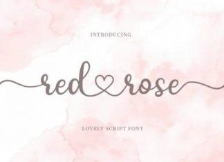 Red Rose Font