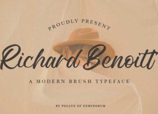Richard Benoitt Font