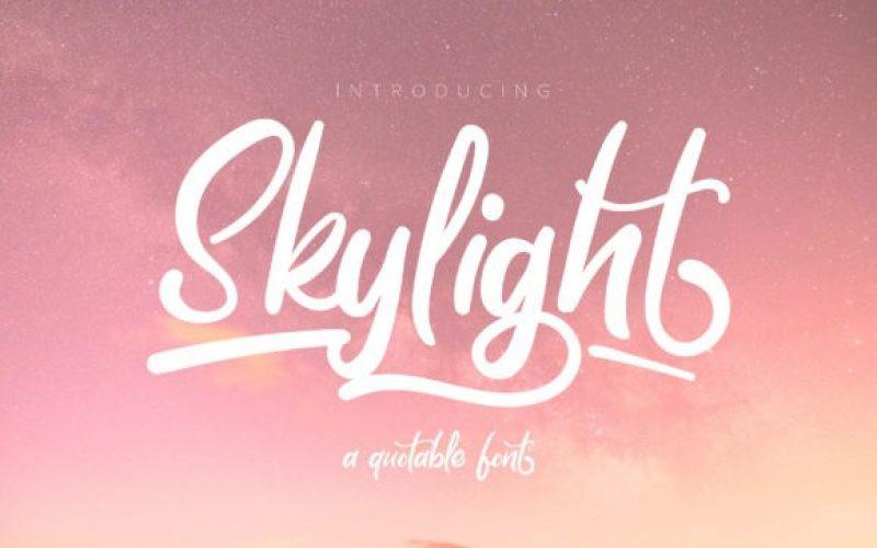 Skylight Font