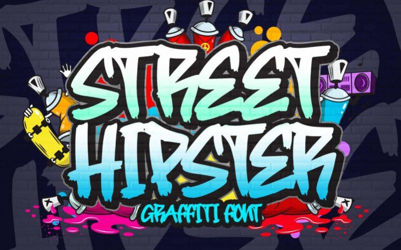Street Hipster Font