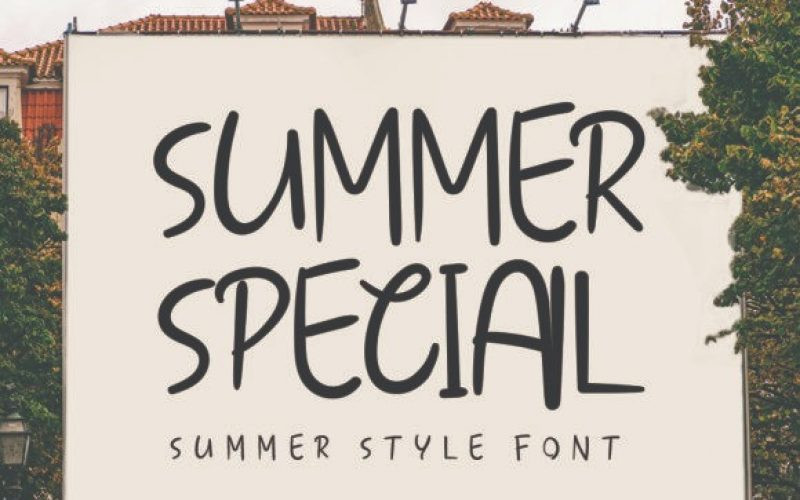 Summer Special Font