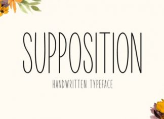 Supposition Font