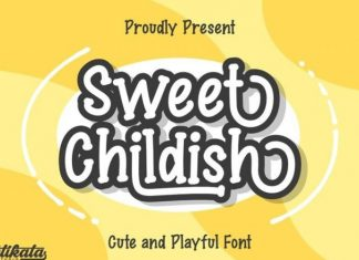 Sweet Childish Font