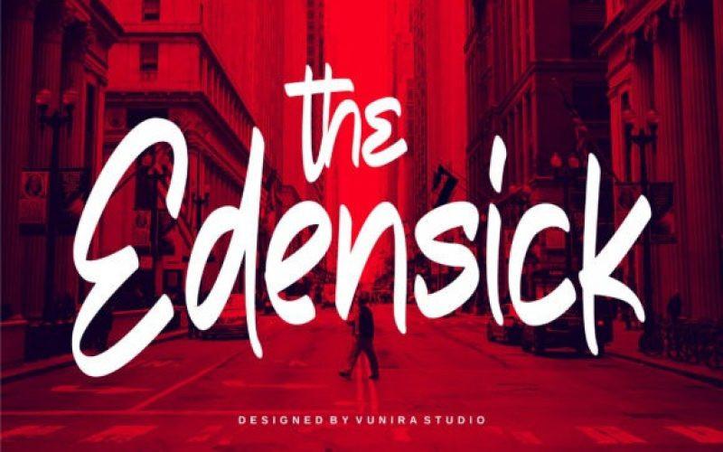 The Edensick Font