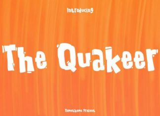 The Quakeer Font