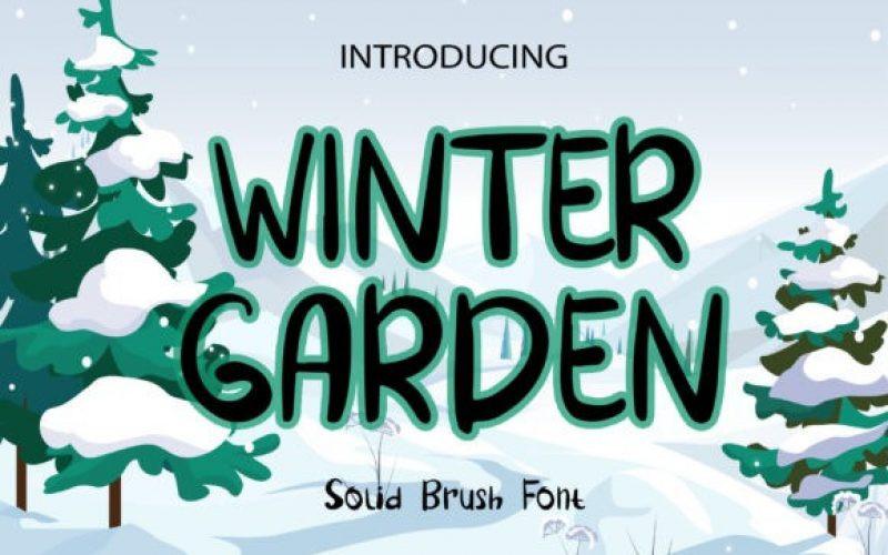 Winter Garden Font