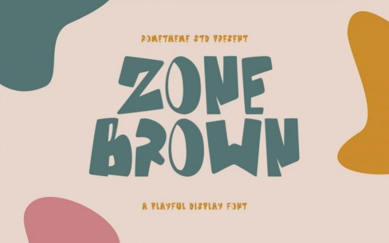 Zone Brown Font