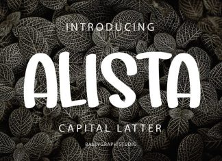 ALISTA Font