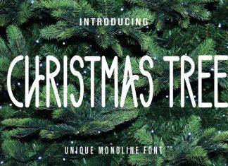 Chritsmas Tree Font