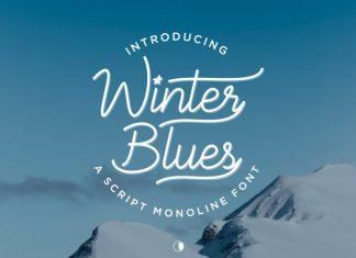 Winter Blues Font