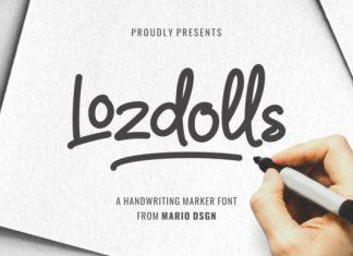 Lozdolls Font