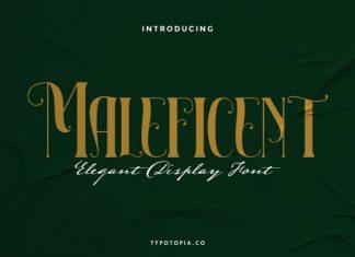 Maleficent Font