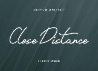 Close Distance Font
