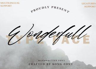 Wonderfull Font