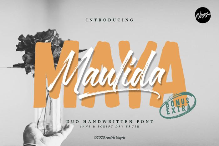 Maulida Maya Font