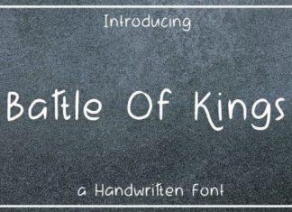 Battle of Kings Font