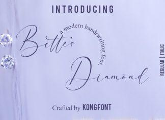 Better Diamond Font