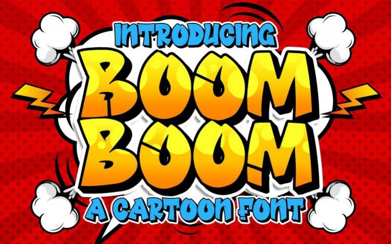 Boom Boom Font