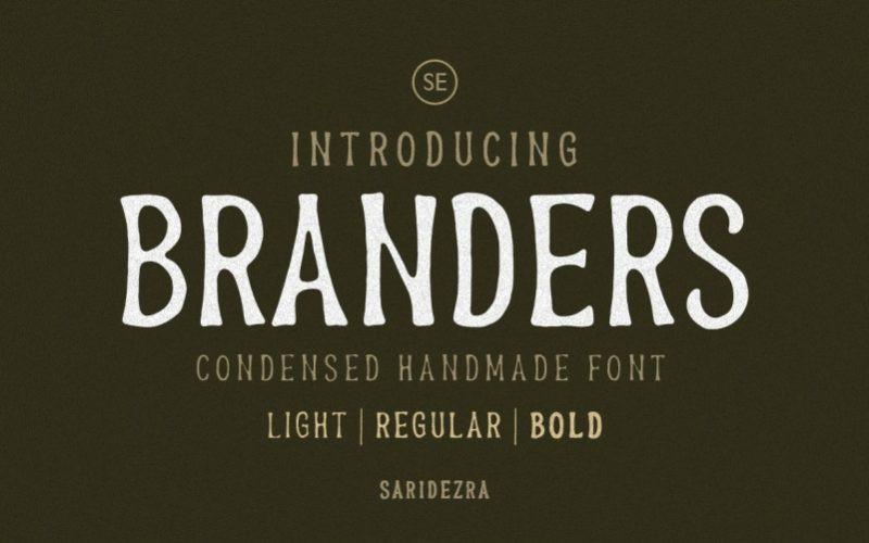 Branders Font