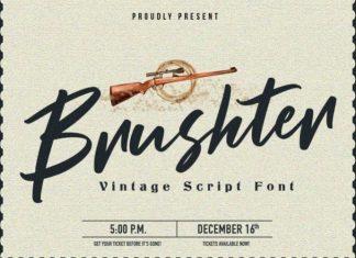 Brushter Font