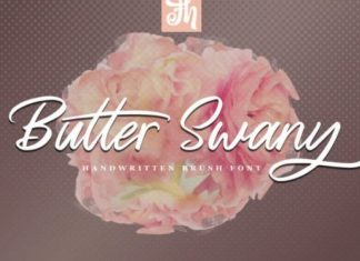 Butter Swany Font