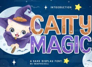 Catty Magic Font