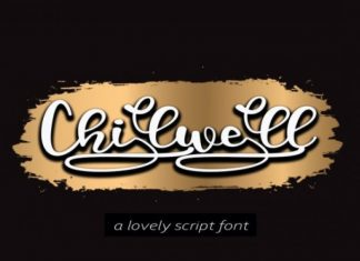 Chilwell Font