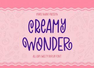 Creamy Wonder Font