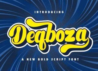 Deqboza Font
