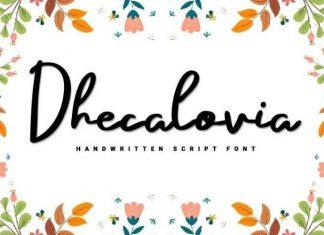Dhecalovia Font