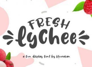 Fresh Lychee Font