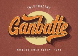 Ganbatte Font