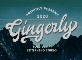 Gingerly Font