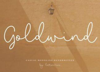 Goldwind Font