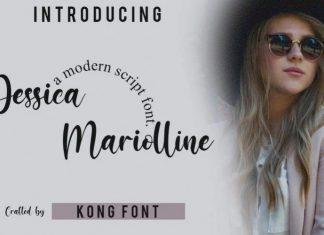 Jesicca Mariolline Font