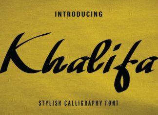 Khalifa Font