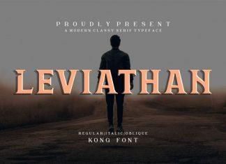 Leviathan Font