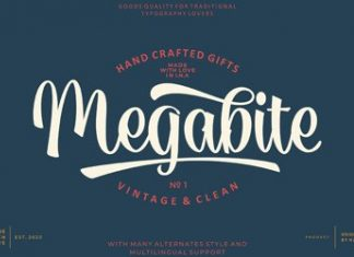 Megabite Font