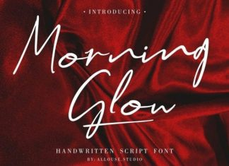 Morning Glow Font