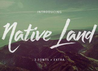 Native Land Font