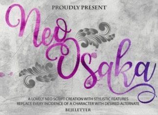 Neo Osaka Font