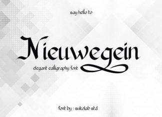 Nieuwegein Font