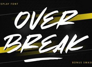 Over Break Font
