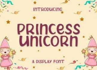 Princess Unicorn Font