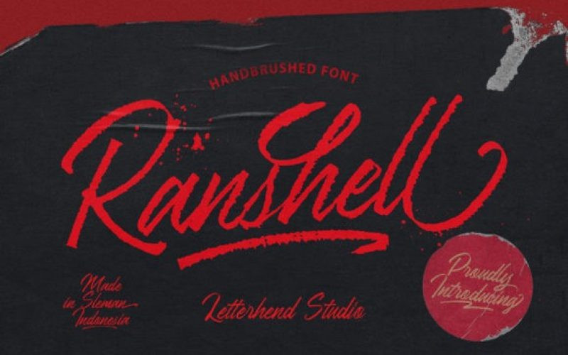 Ranshell Font