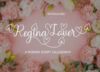 Regina Lover Font