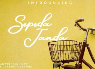 Sepeda Janda Font