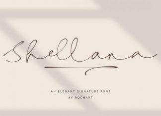 Shellana Font