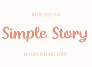 Simple Story Font