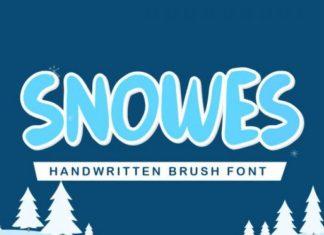 Snowes Font